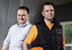 Søren (t.v.) og Brian (t.h.)